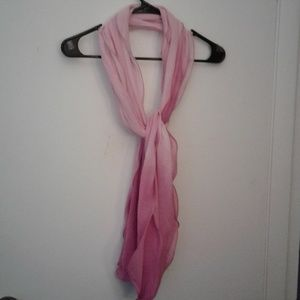 PINK OMBRE SCARF
